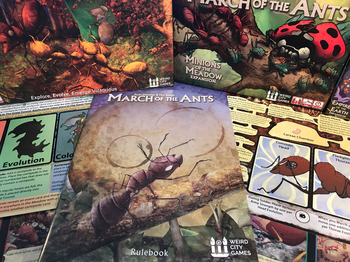 First Impressions of the March of the Ants Solo Mode