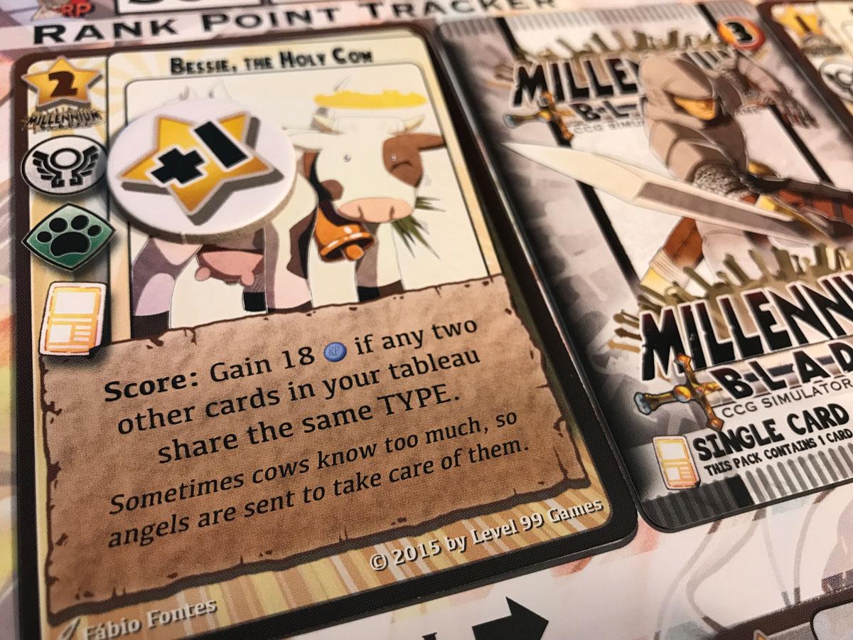 The Millennium Blades Solo Tournament of Randomness