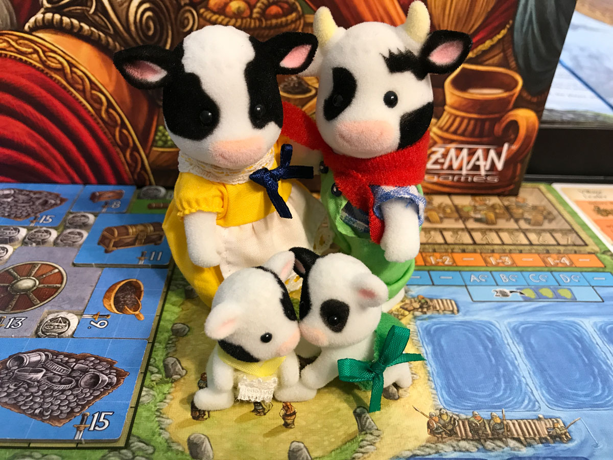 Exploring Different Action Spaces in A Feast for Odin
