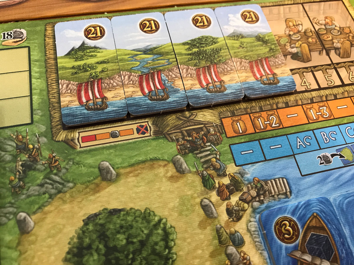 The Journey from Famine to Feast in A Feast for Odin