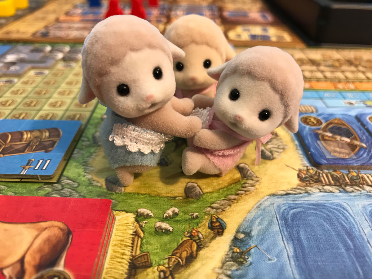The Many Little Lambs of the Vikings in A Feast for Odin