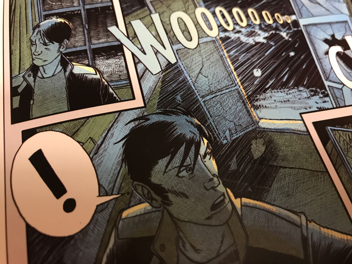 A Solo Review of the Graphic Novel Adventure, Captive