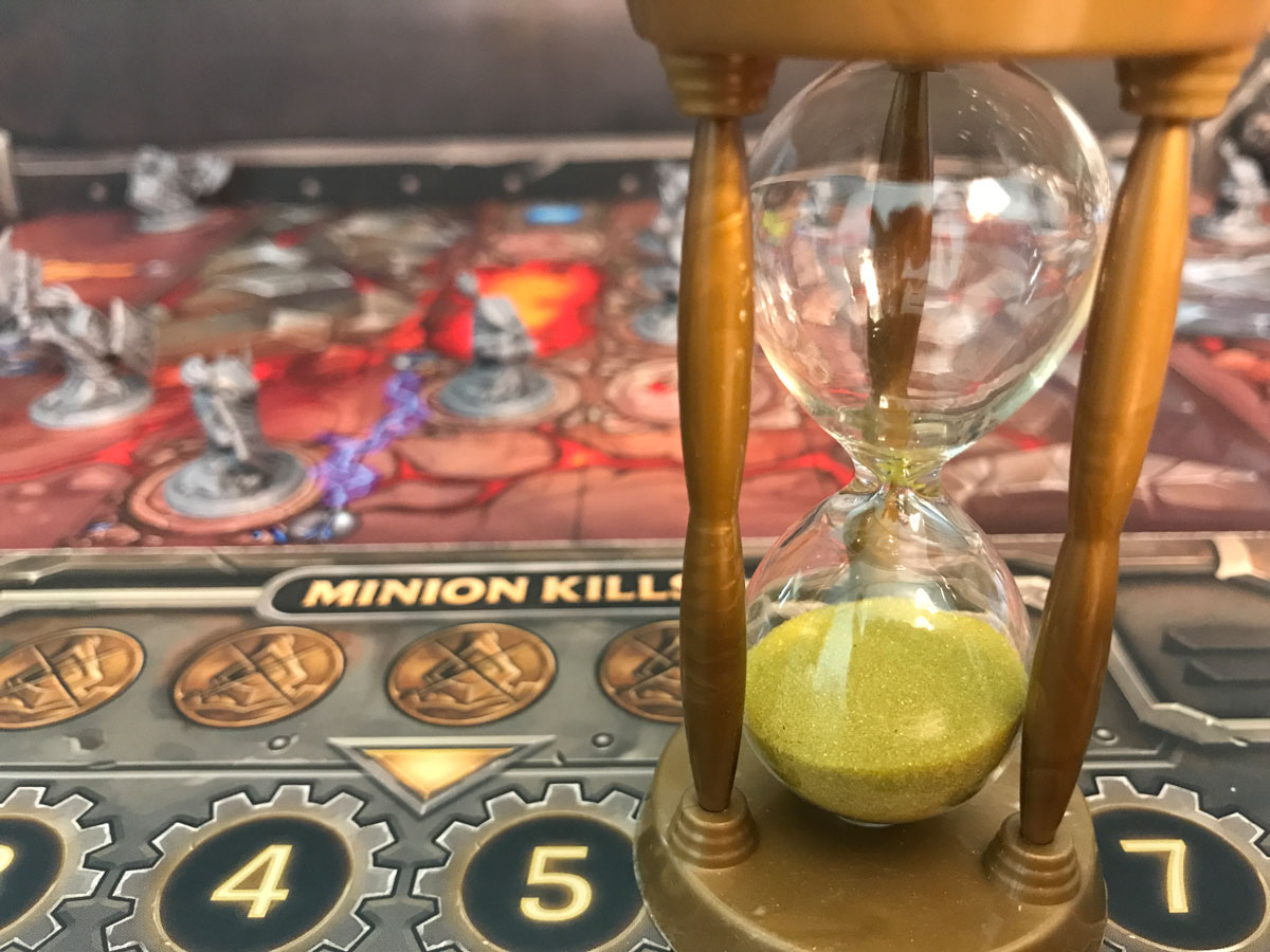 Racing Against the Sands of Time in Mechs vs. Minions