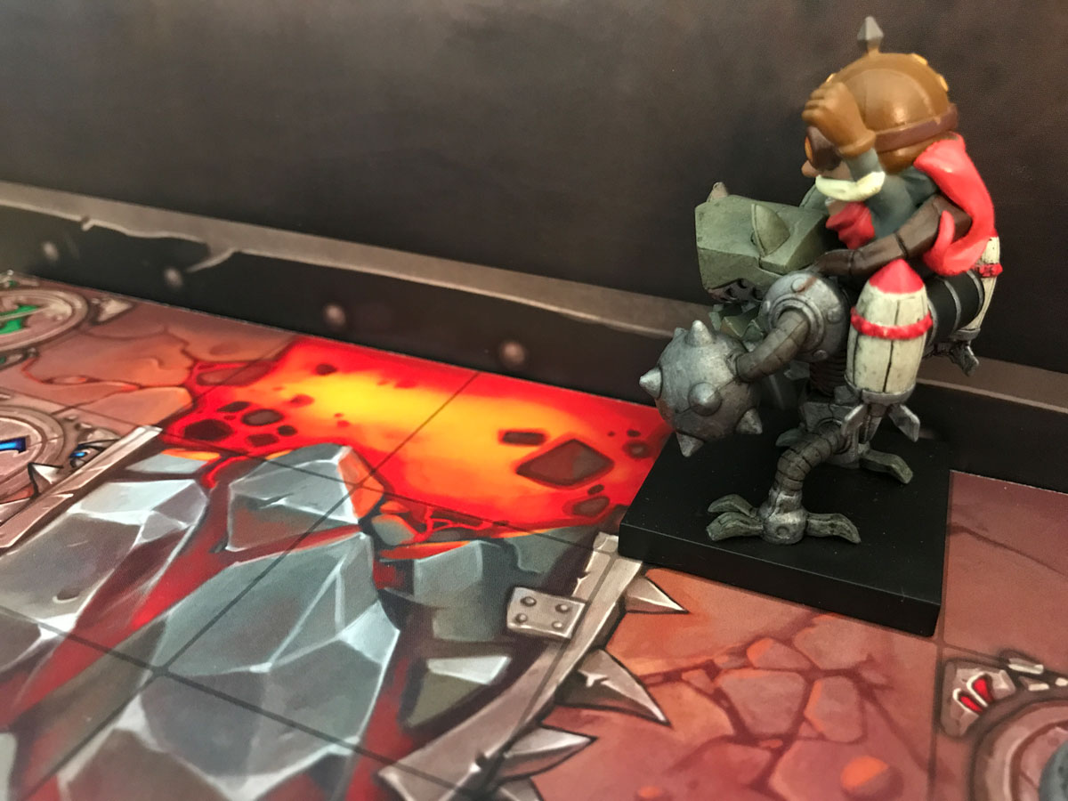 Lava: Just a Hop, Skip, and Jump Away in Mechs vs. Minions