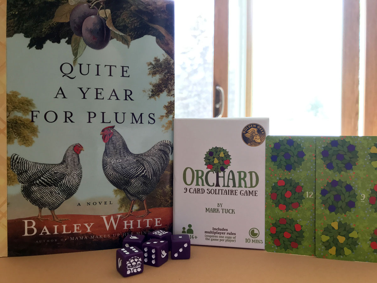 Pairing a Lovely Book with Orchard: A 9 Card Solitaire Game