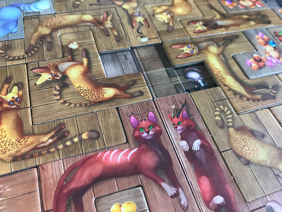 First Impressions of The Isle of Cats, Cats, and More Cats