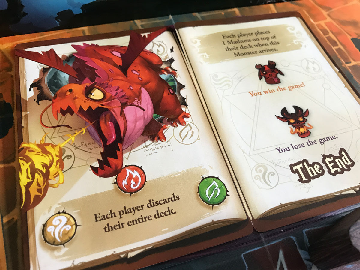 Losing to a Dangerous Dragon in The Big Book of Madness