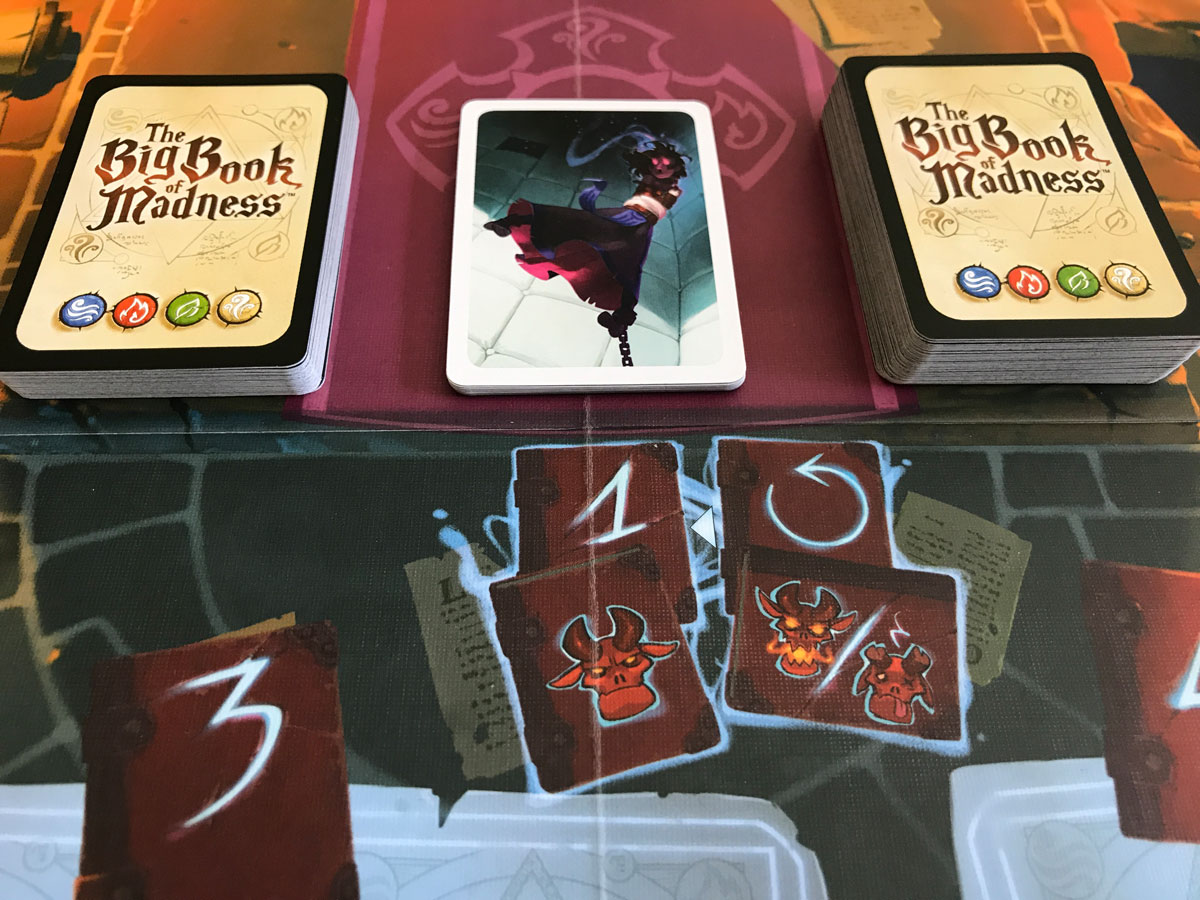 The Trick of Maintaining Certain Deck Sizes in The Big Book of Madness