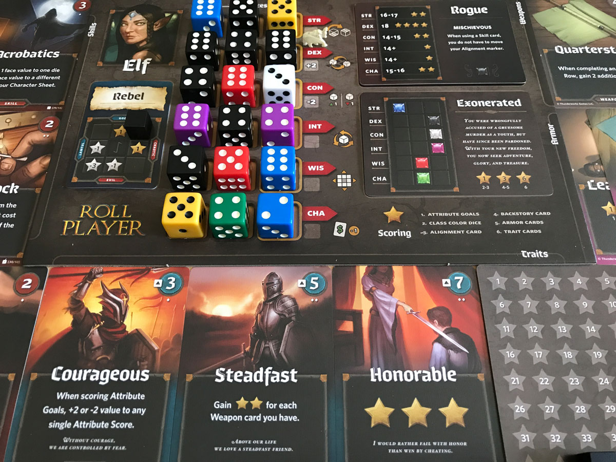 From Dice to Narratives: The Great Story of Roll Player