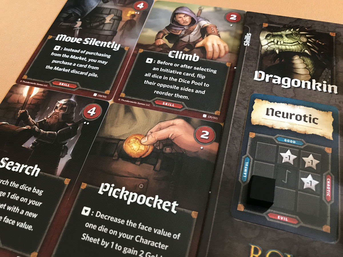 Exploring the Roll Player Base Game and Character Creation