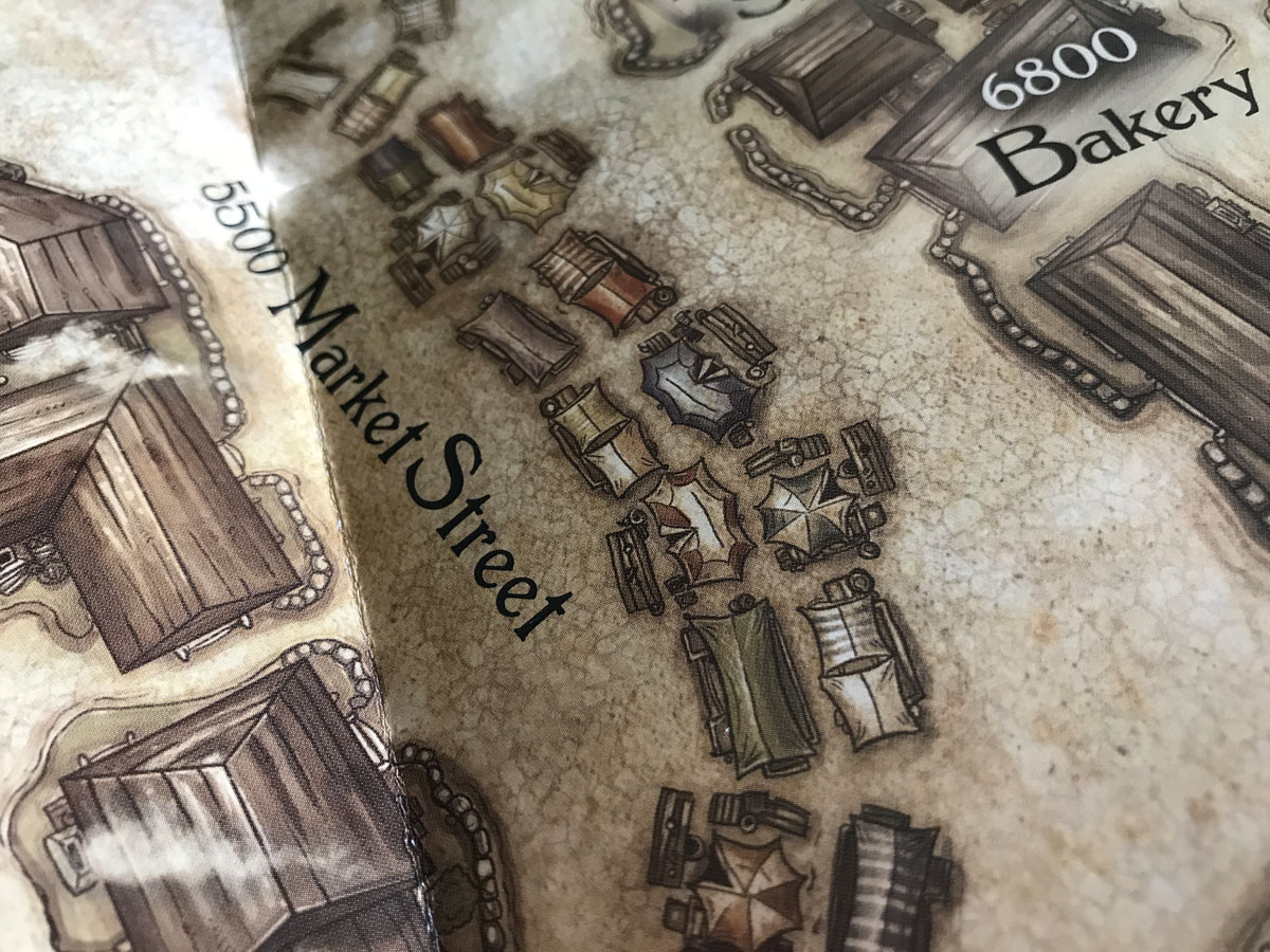 The Small Details of the Map in Legacy of Dragonholt