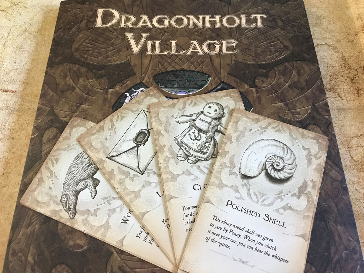 Into the Heart of the Village in Legacy of Dragonholt