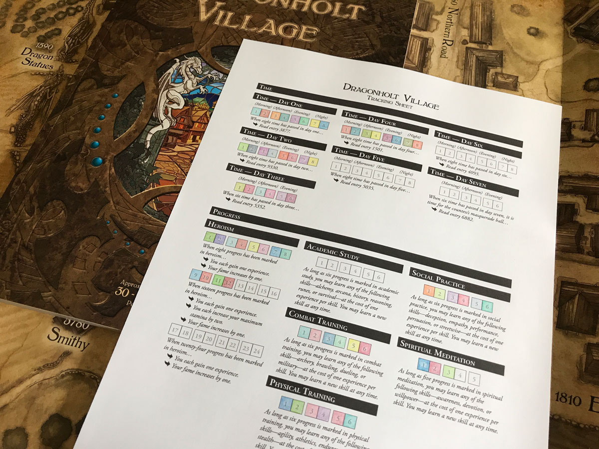 The Happy Part of Village Life and Progress in Legacy of Dragonholt
