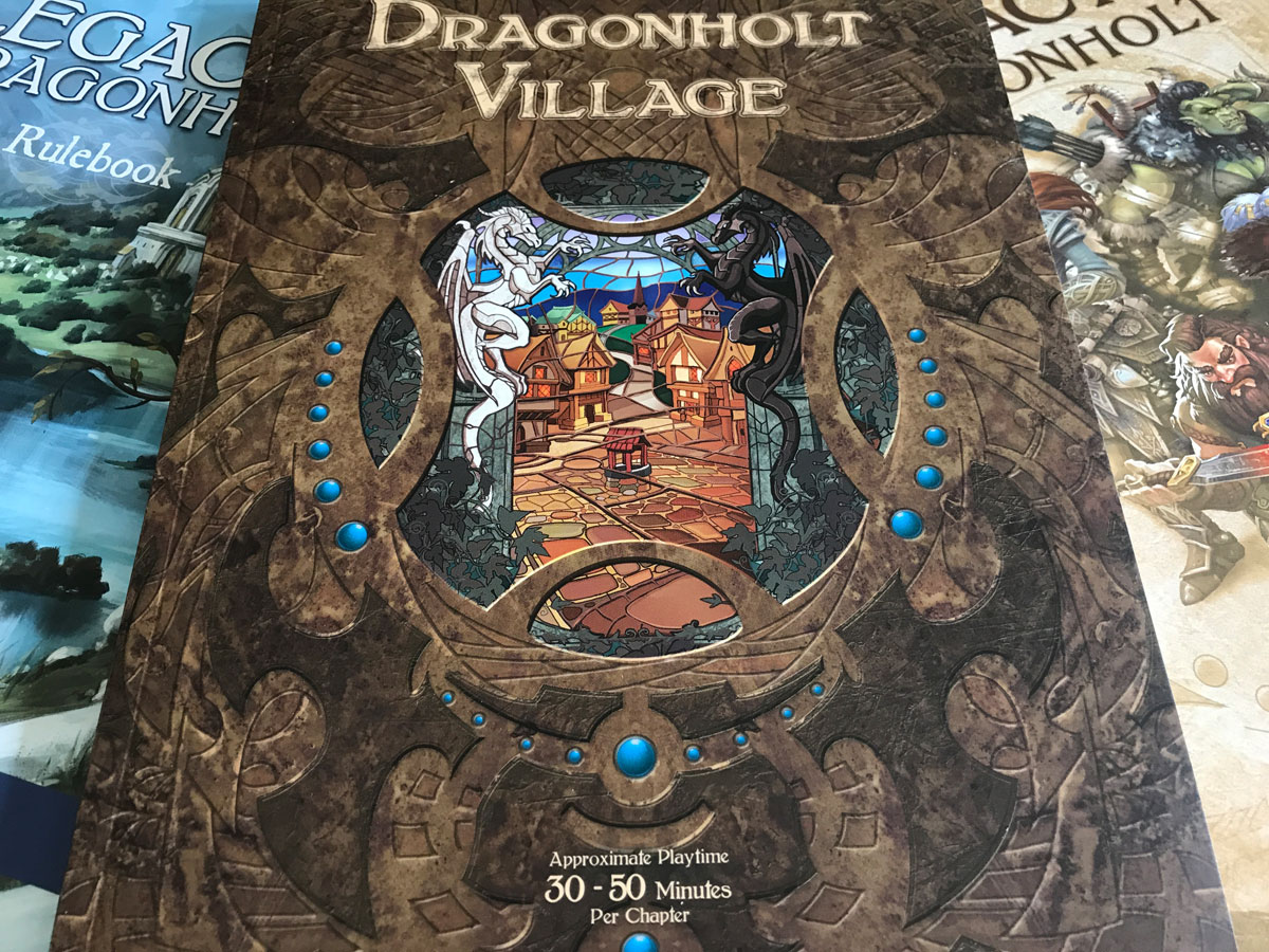 Laying Out the Beautiful Books from Legacy of Dragonholt