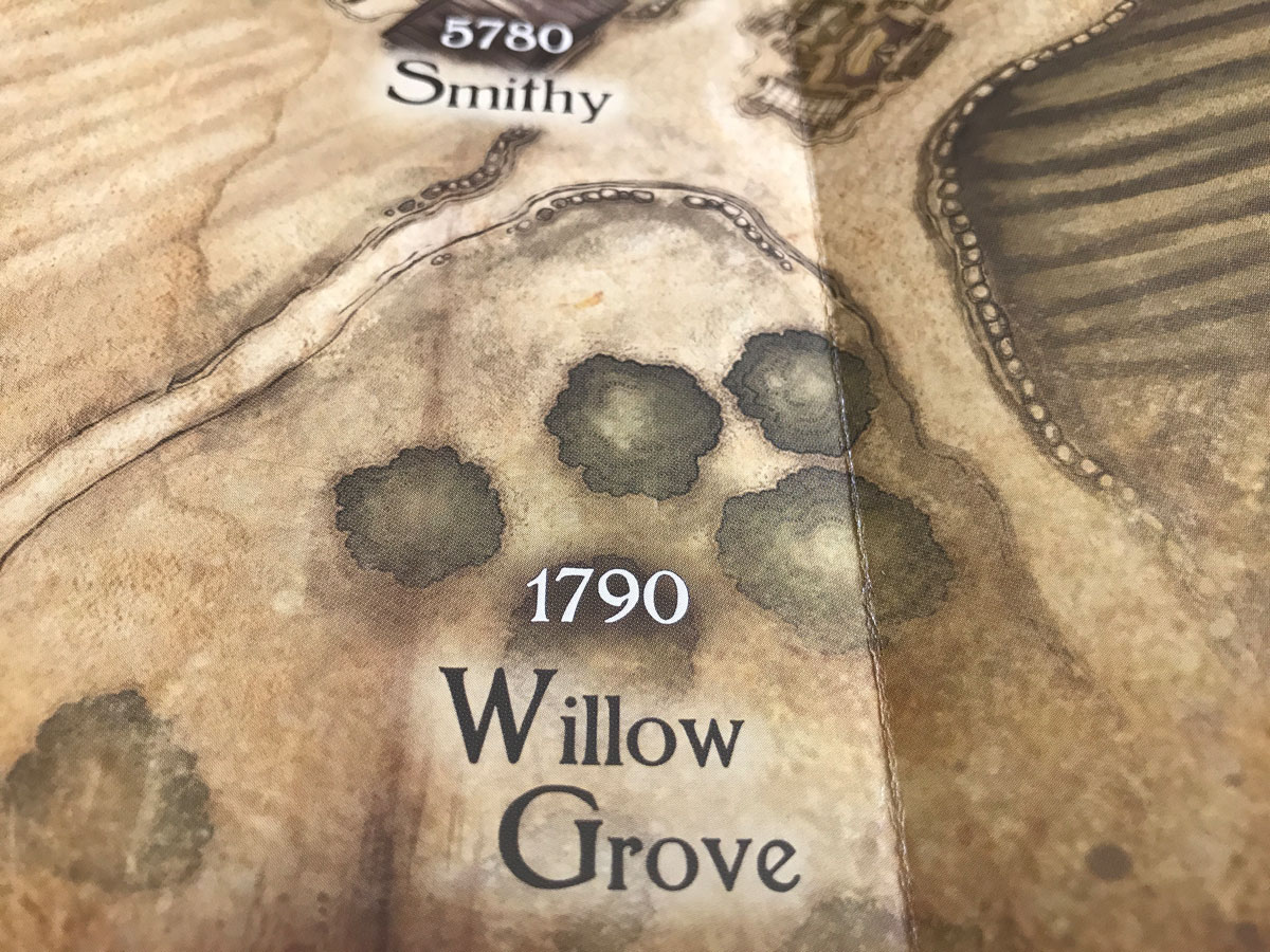 Exploring South of the Village and Willow Grove in Legacy of Dragonholt