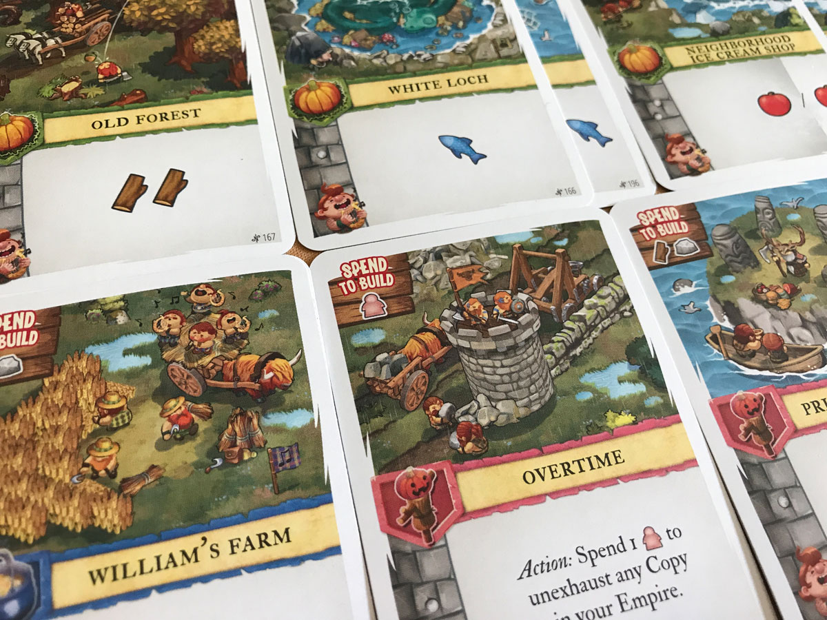 A Very Bright and Cheery Empire in Imperial Settlers: Empires of the North