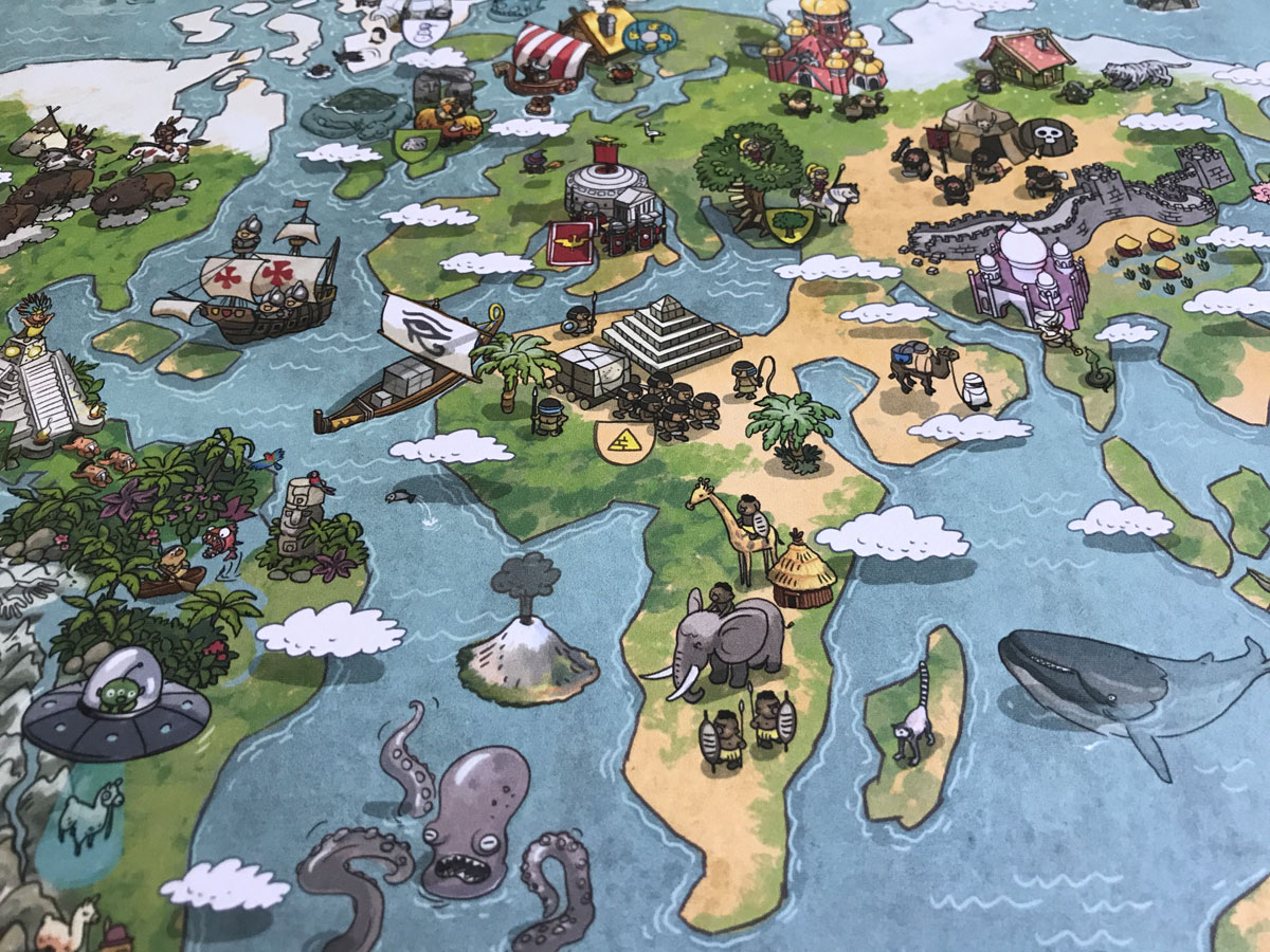 Imperial Settlers: Empires of the North First Solo Play