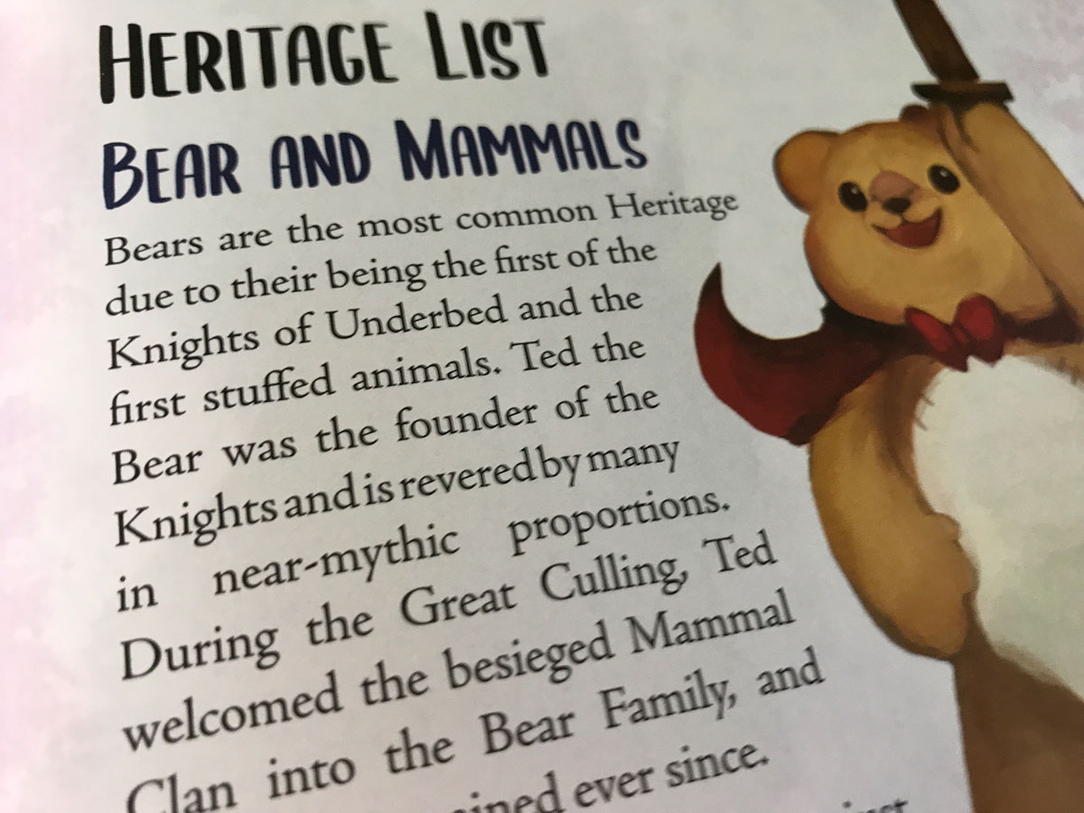Learning More About the Classic Bears in Knights of Underbed