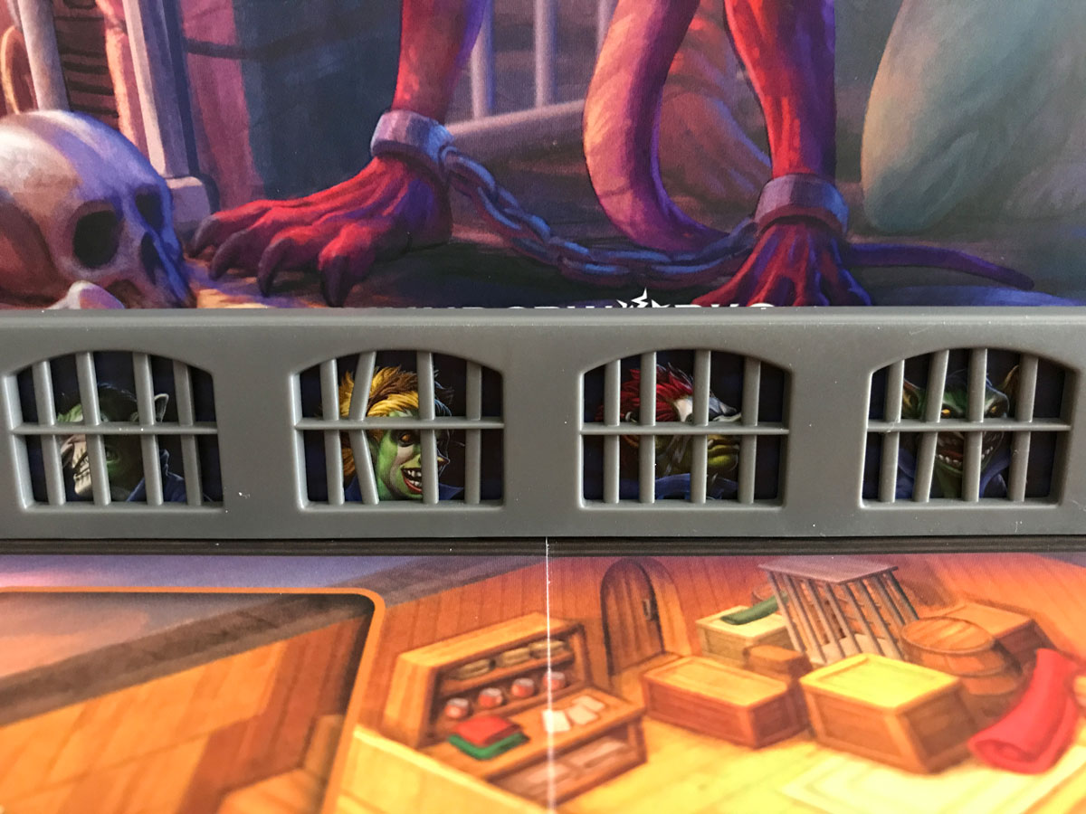 Peering Out from the Bars of Lockup: A Roll Player Tale