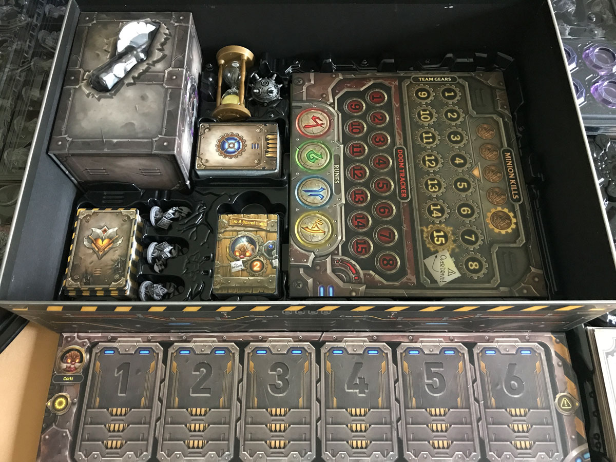 One of the Best Storage Solutions with a Place for Everything from Mechs vs. Minions