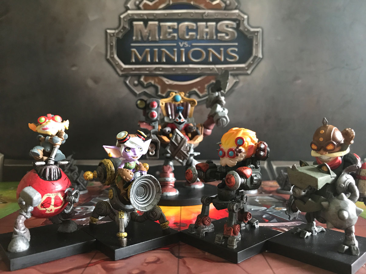 All the Fun Characters Included with Mechs vs. Minions