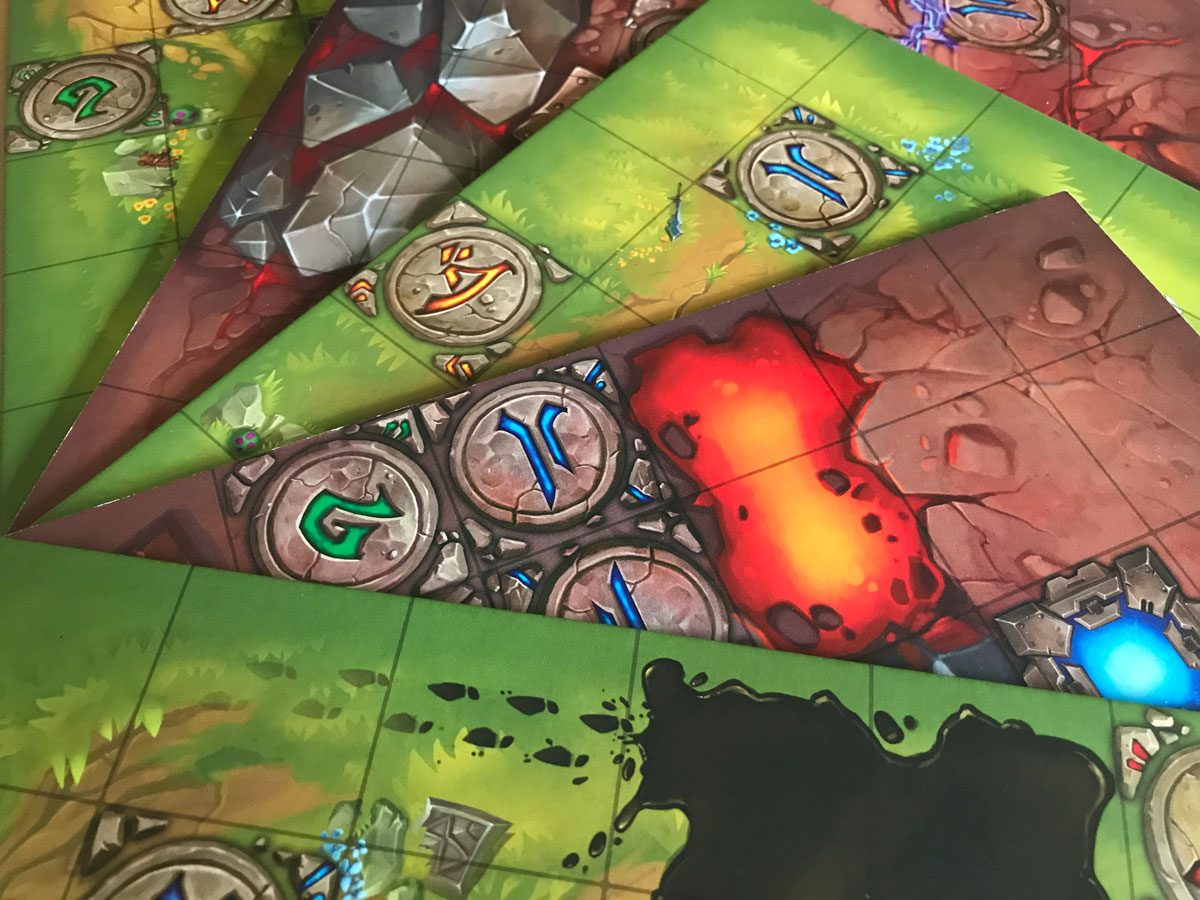 Colorful and Useful Double-Sided Tiles from Mechs vs. Minions