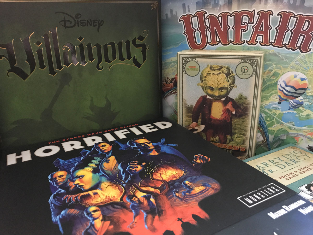 Finding a Few Humorous Ways to Introduce Horror to a Solo Game Marathon in October 2020
