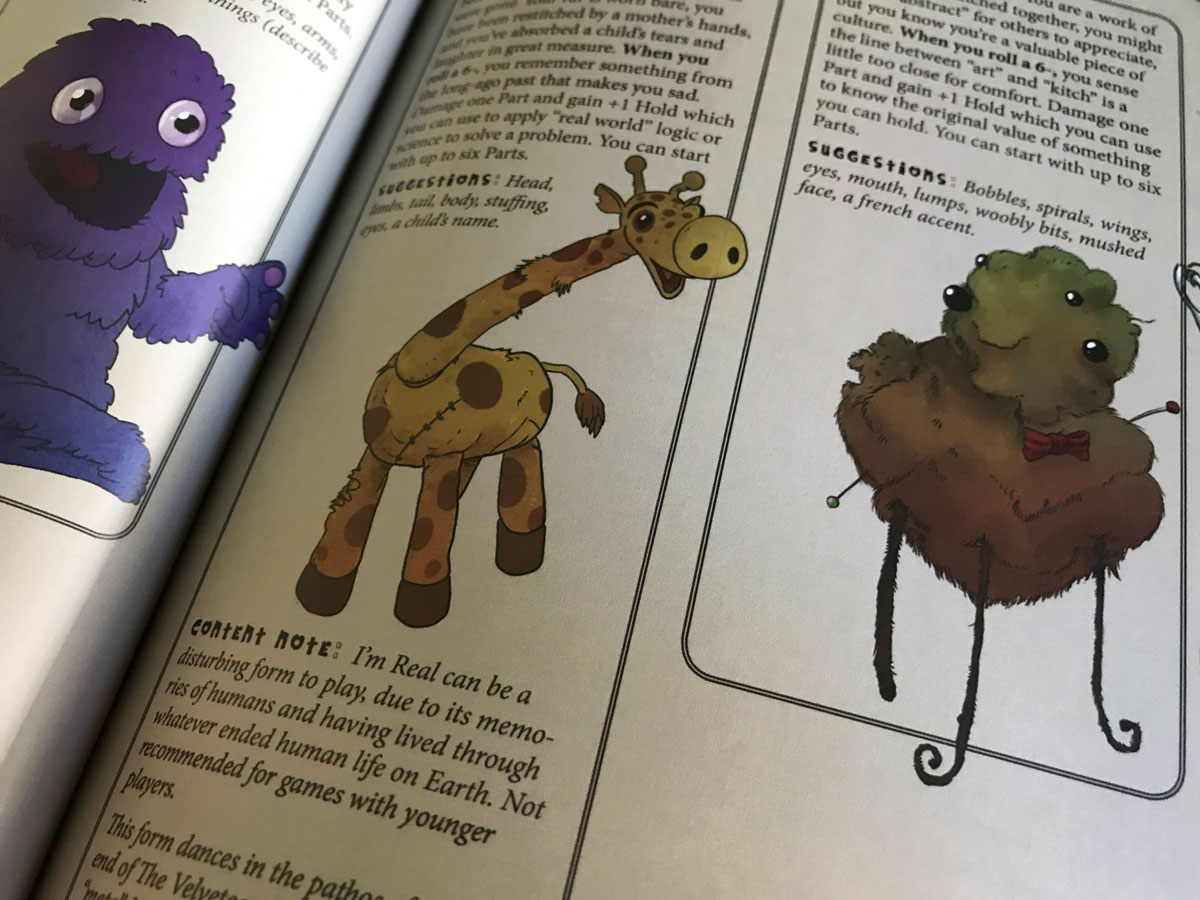 Adorably Unique Toys to Play in the Threadbare Stitchpunk RPG