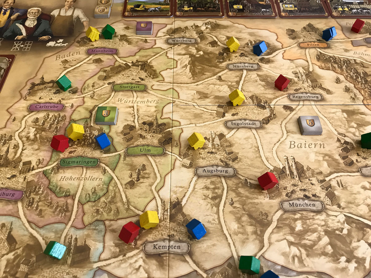 Thurn and Taxis: Fun with an Unofficial Solo Variant
