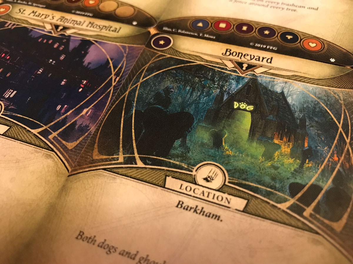 Headed to the Doghouse in Arkham Horror: The Card Game