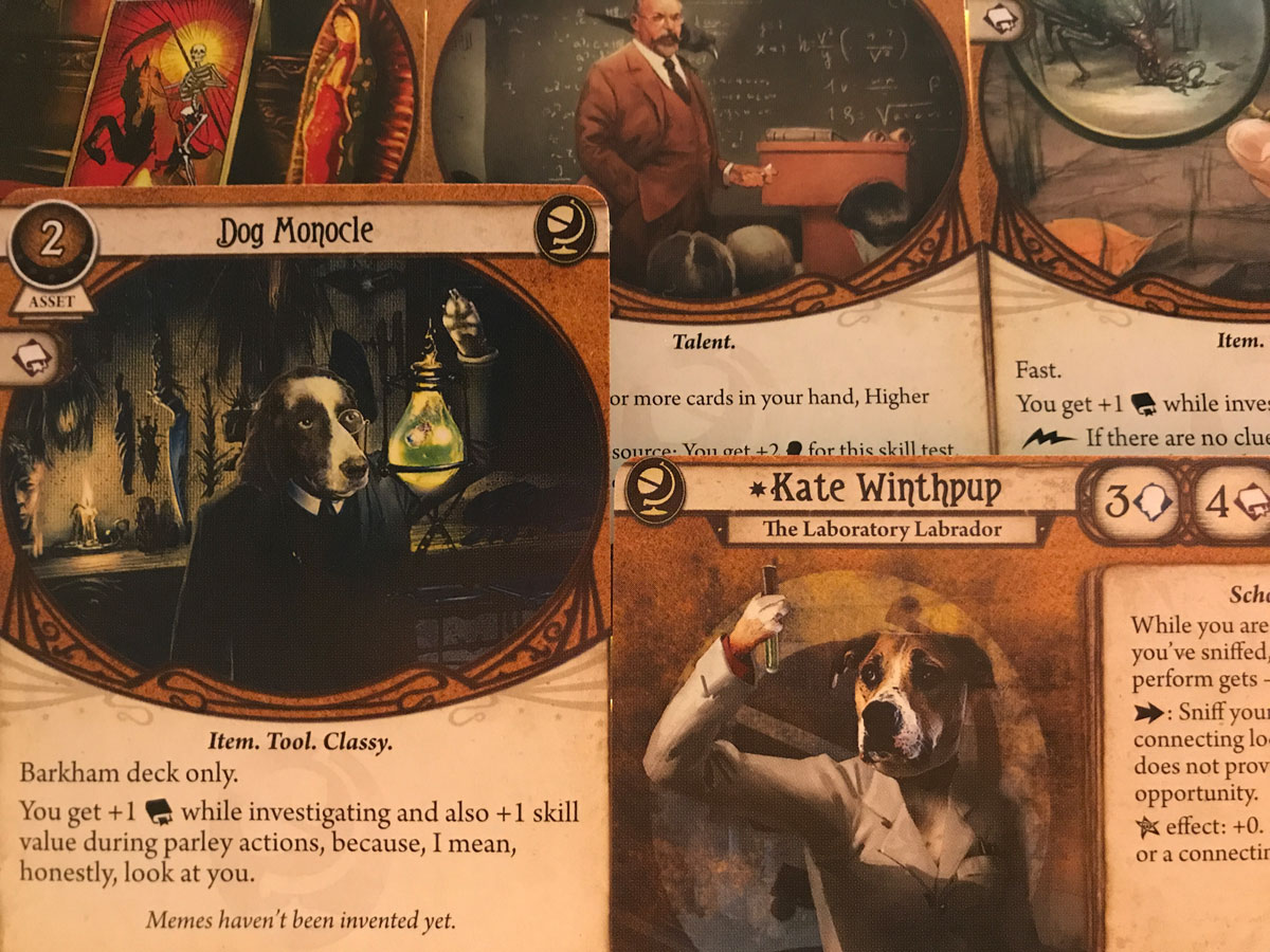 Back to Dogs vs. Cats in Barkham Horror: The Card Game