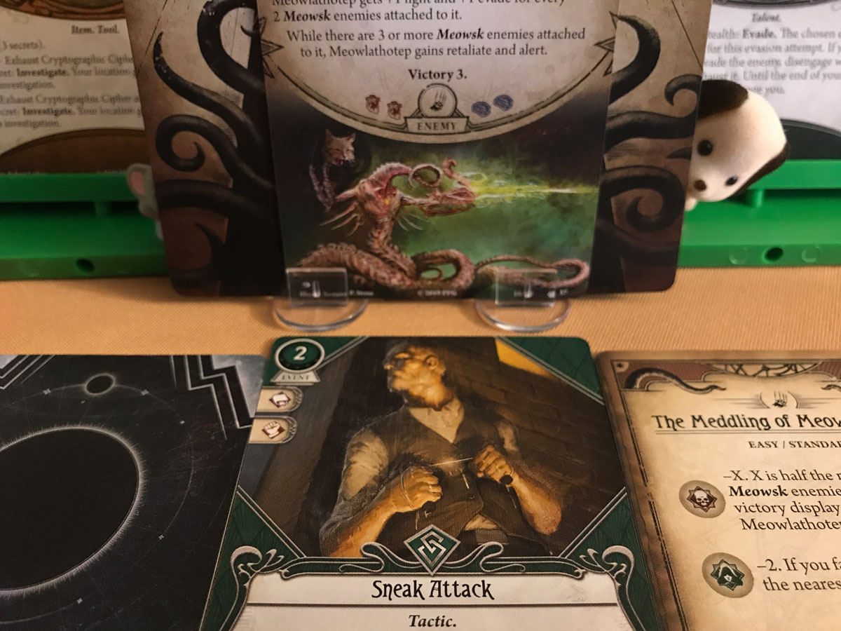 Pulling Off the Victory with a Sneak Attack in Arkham Horror: The Card Game