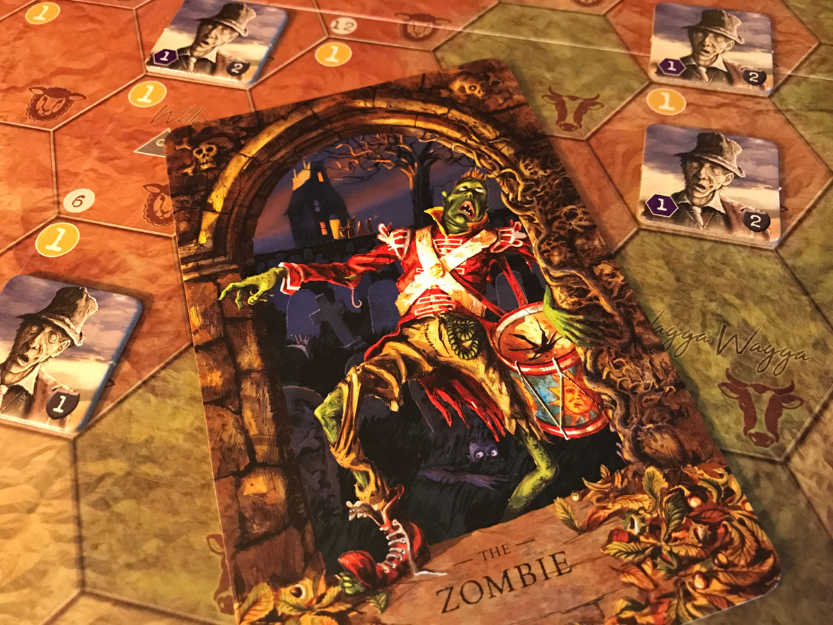 A Truly Haunted Experience with the StoryWorld Zombie and AuZtralia
