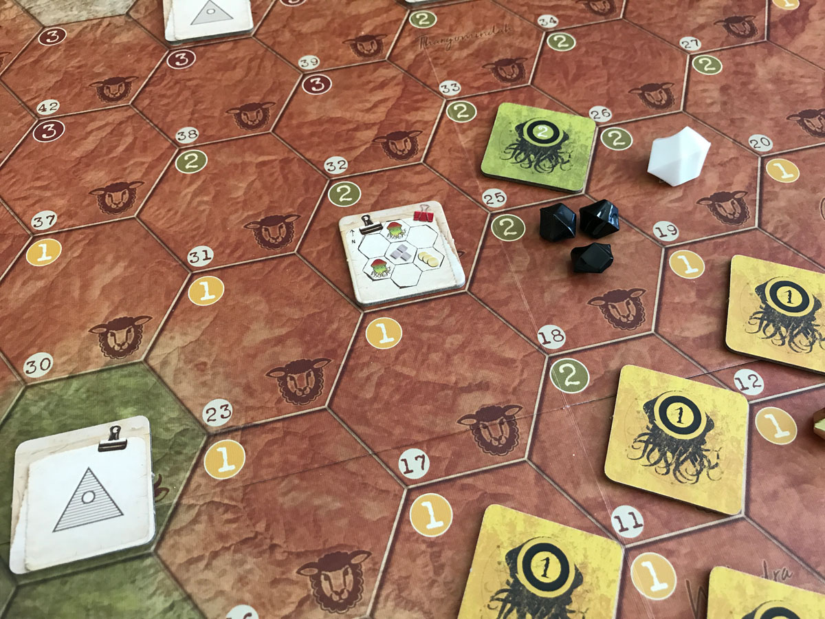 Setting Up the Different Resources and Threats in AuZtralia