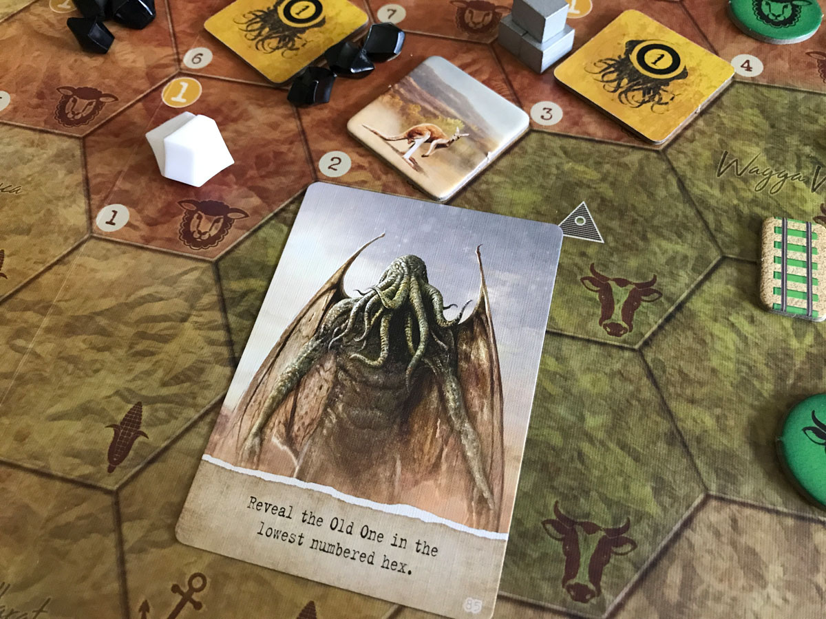 Cthulhu and a Lost Cause with a Newly Revealed Old One in AuZtralia