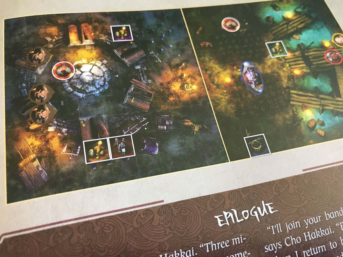 A Rather Difficult-to-Read Setup Diagram in Journey: Wrath of Demons