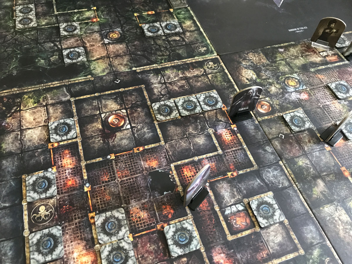A Busy and Explored Area of Machina Arcana