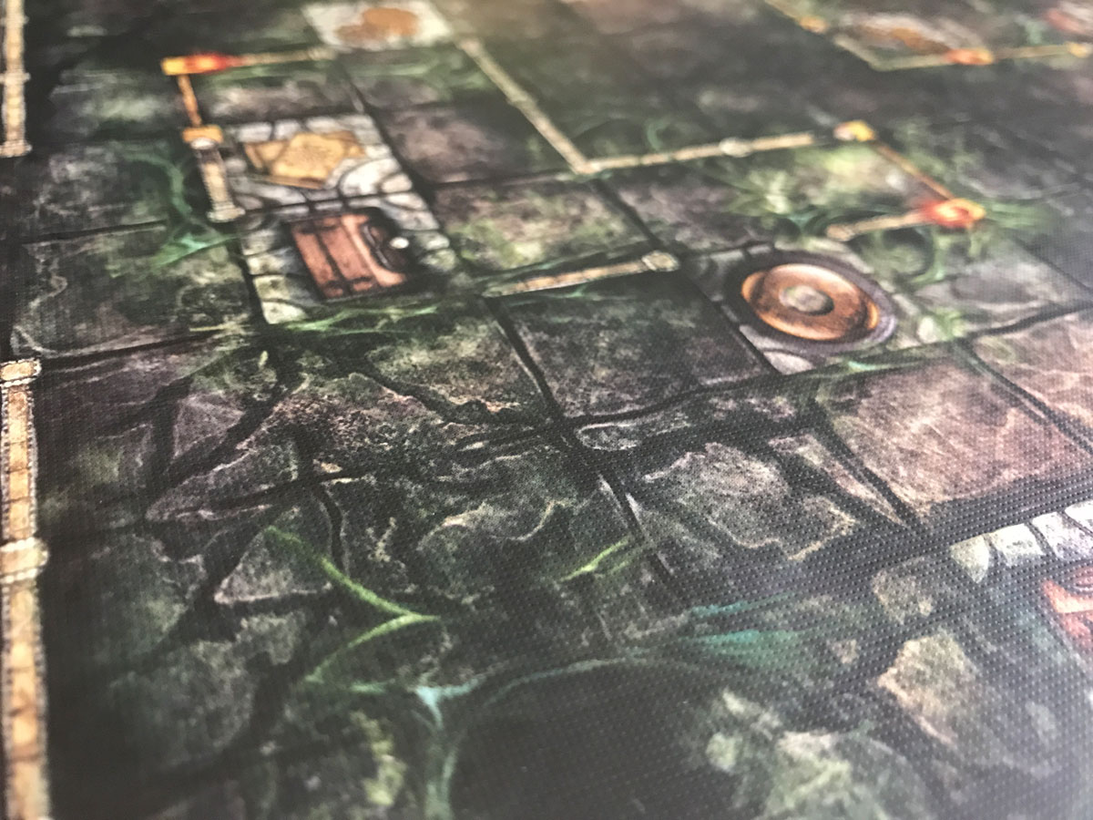 Into the Darkness with an Interesting Map Tile from Machina Arcana