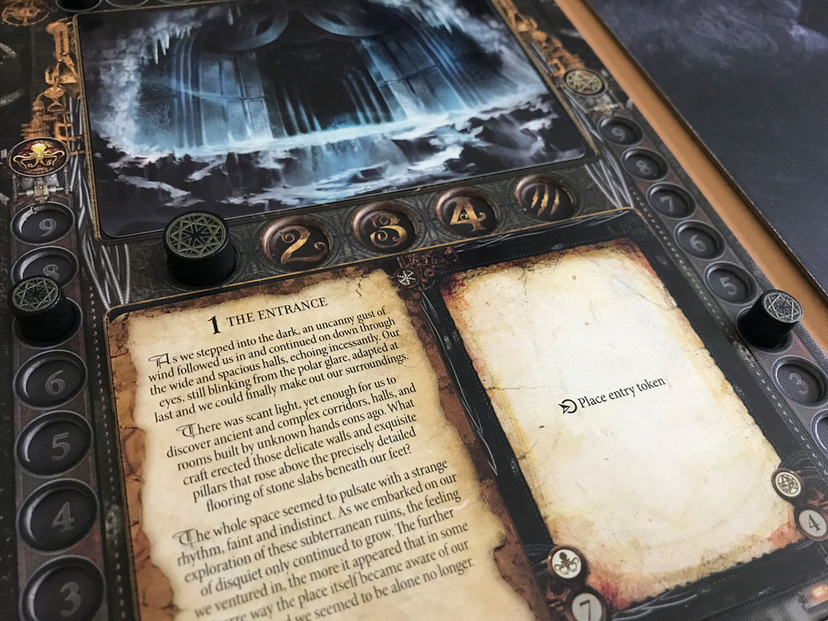 Into the Cold and Icy World of a Machina Arcana Scenario