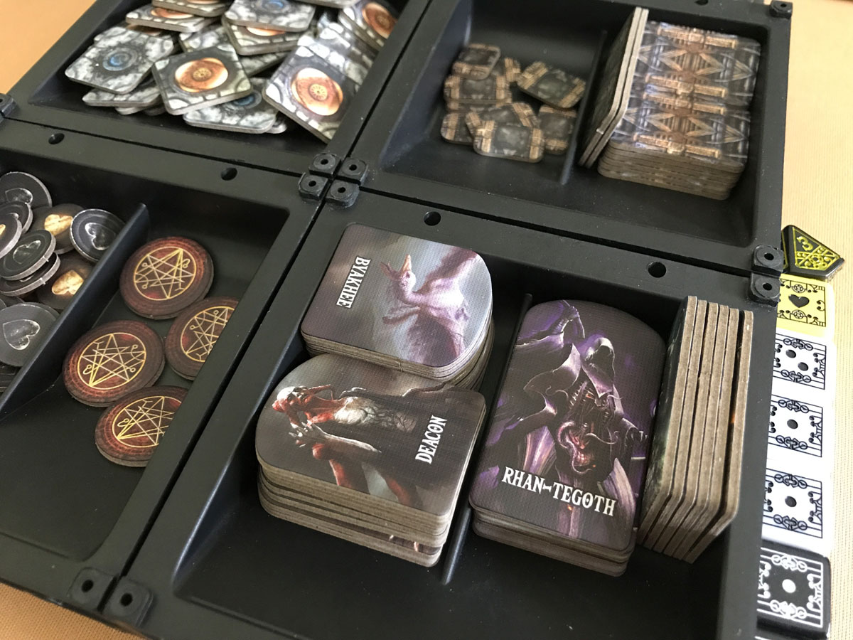 Finding a Neat Way to Keep the Components Organized in Machina Arcana