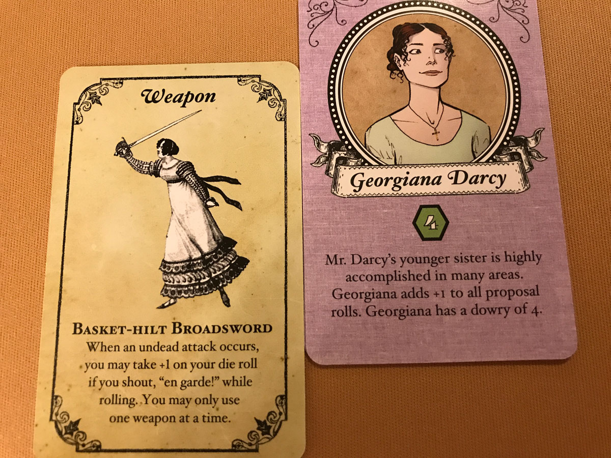 A Worthy Opponent in Georgiana Darcy and the Broadsword in Marrying Mr. Darcy