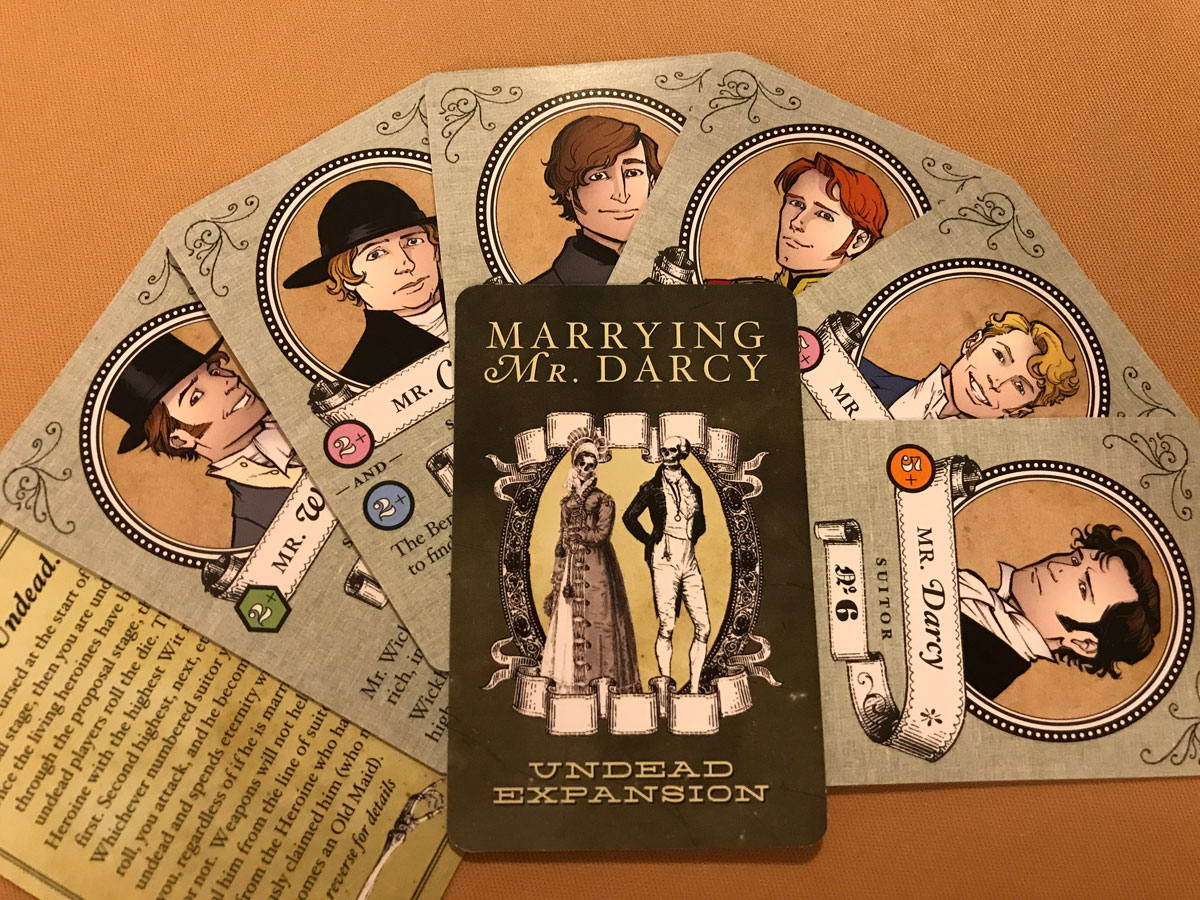 A Little Bit of Undead Excitement for the Suitors of Marrying Mr. Darcy