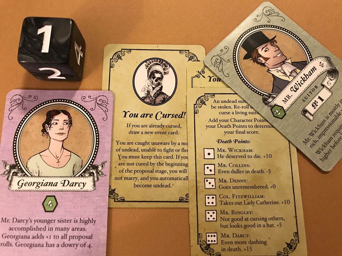 Georgiana the Undead and Her Revenge on Mr. Wickham in Marrying Mr. Darcy