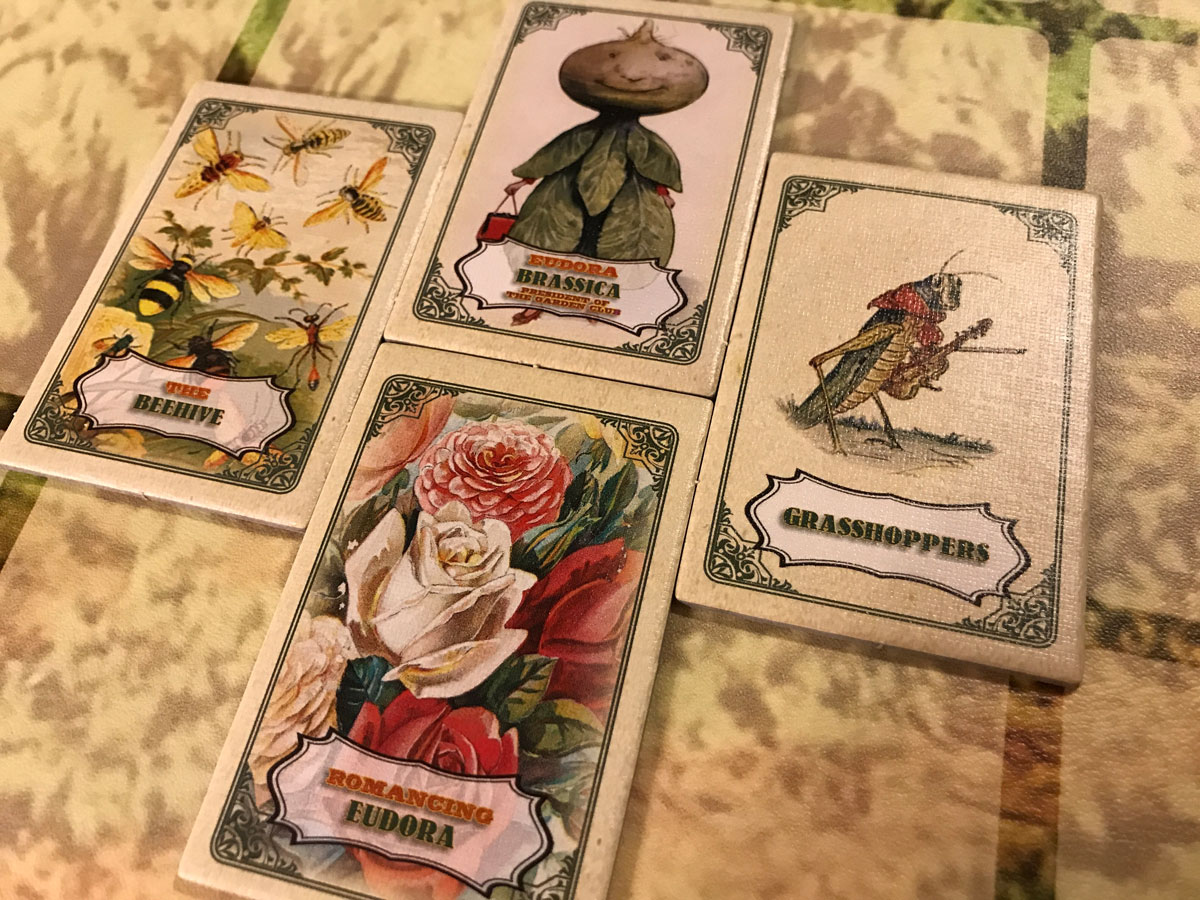 Preparing to Impress and Romance Eudora Brassica in Mr. Cabbagehead's Garden
