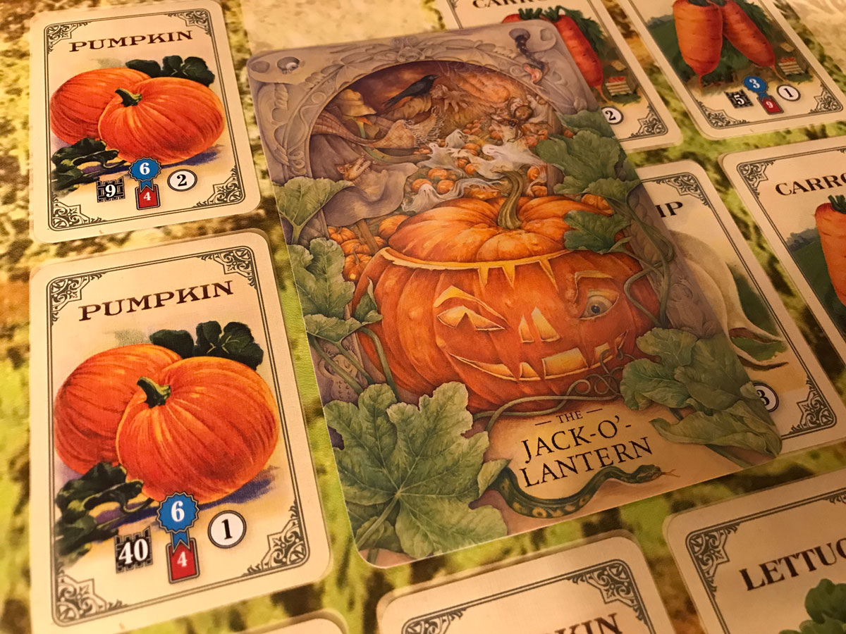 Getting Ready for Halloween with Pumpkins and StoryWorld with Mr. Cabbagehead's Garden