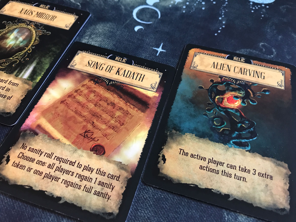 Finding Ways to Use Relics for Progress in Pandemic: Reign of Cthulhu