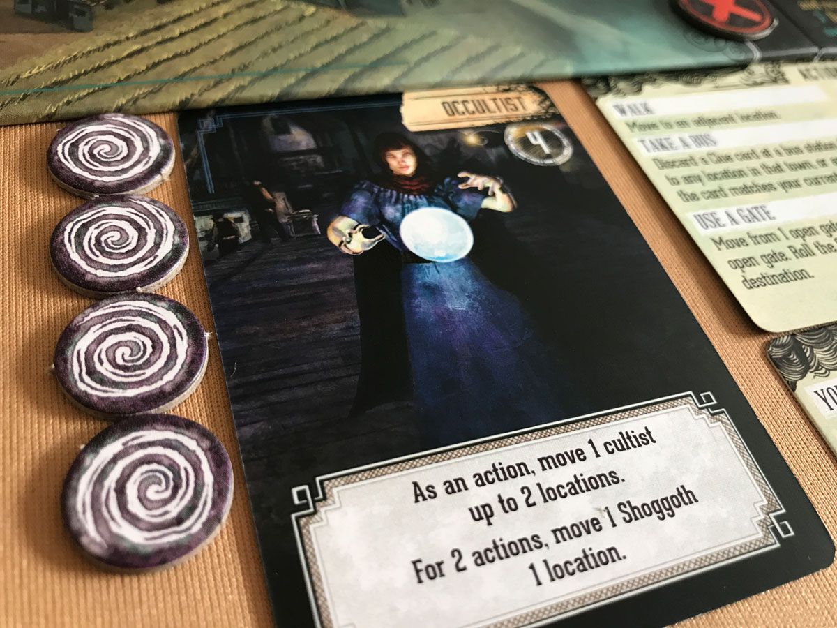 Fighting the Occult with the Occult in Pandemic: Reign of Cthulhu