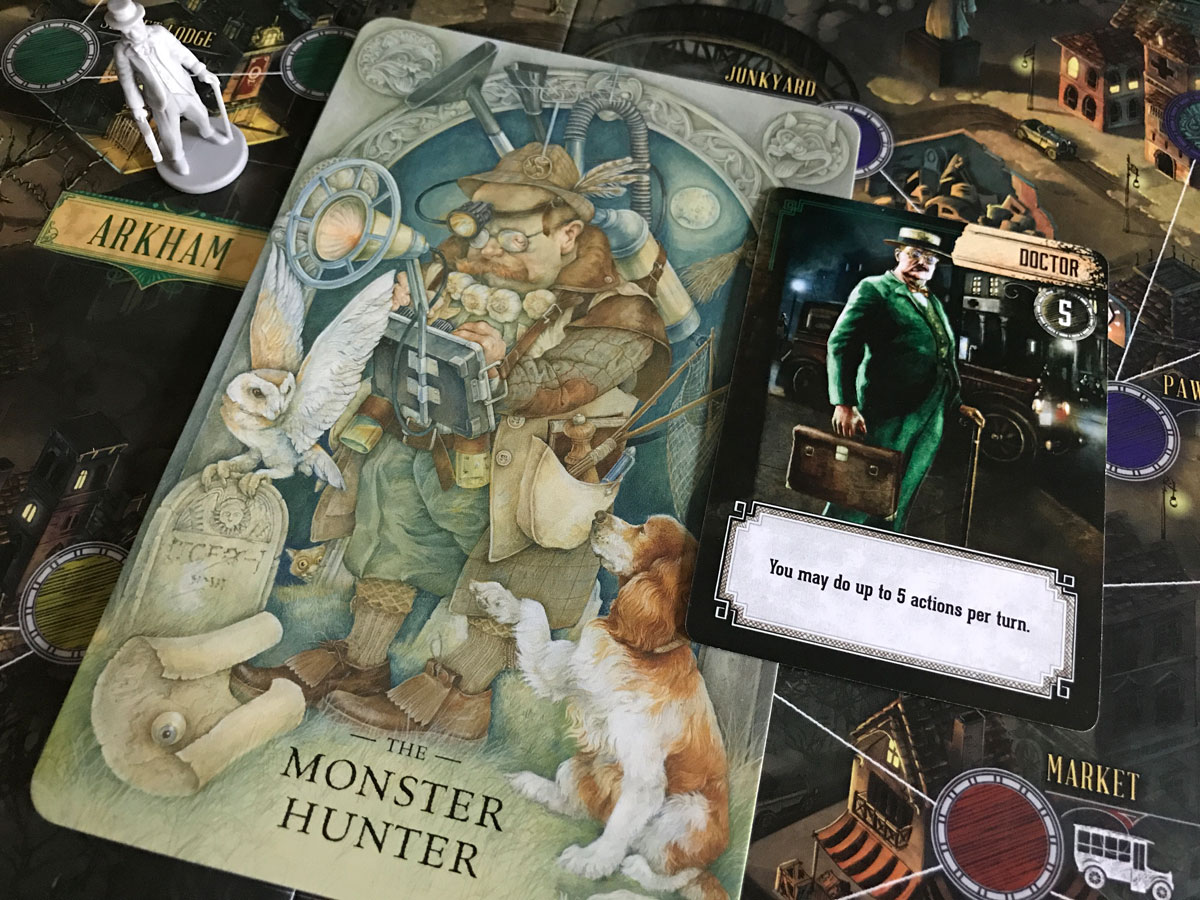 Everything Inside the Doctor's Briefcase in Pandemic: Reign of Cthulhu