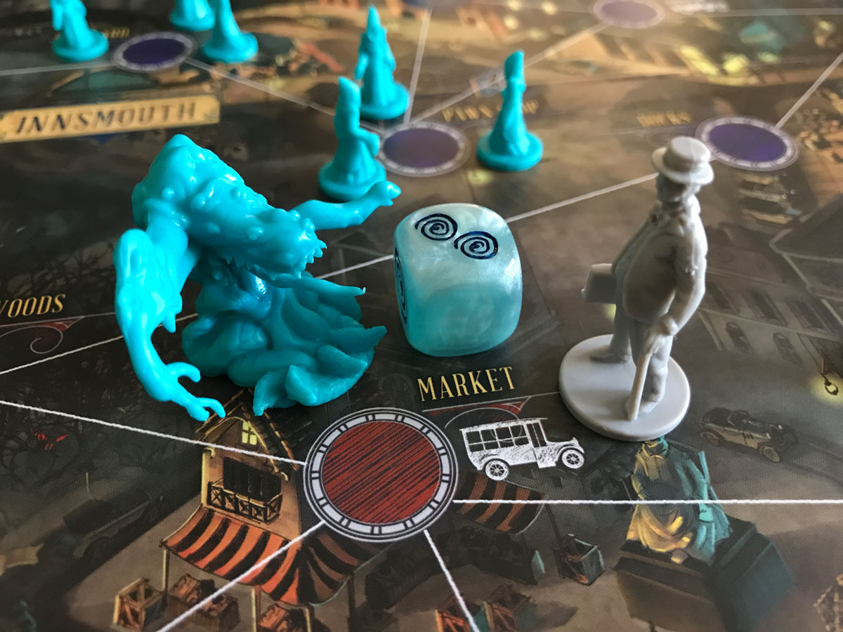 A Very Frightening Arrival at the Market in Pandemic: Reign of Cthulhu