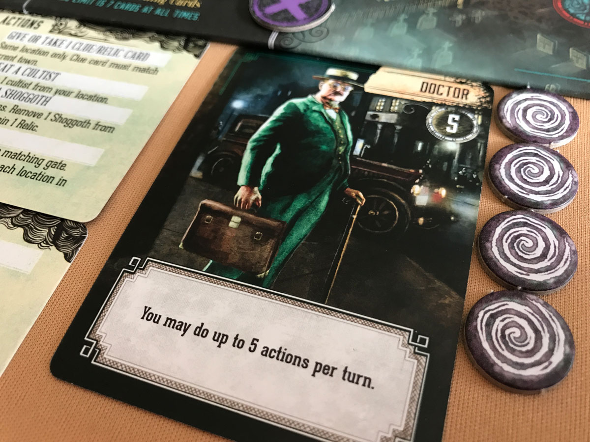 A Very Dapper Doctor to Fight Evil in Pandemic: Reign of Cthulhu